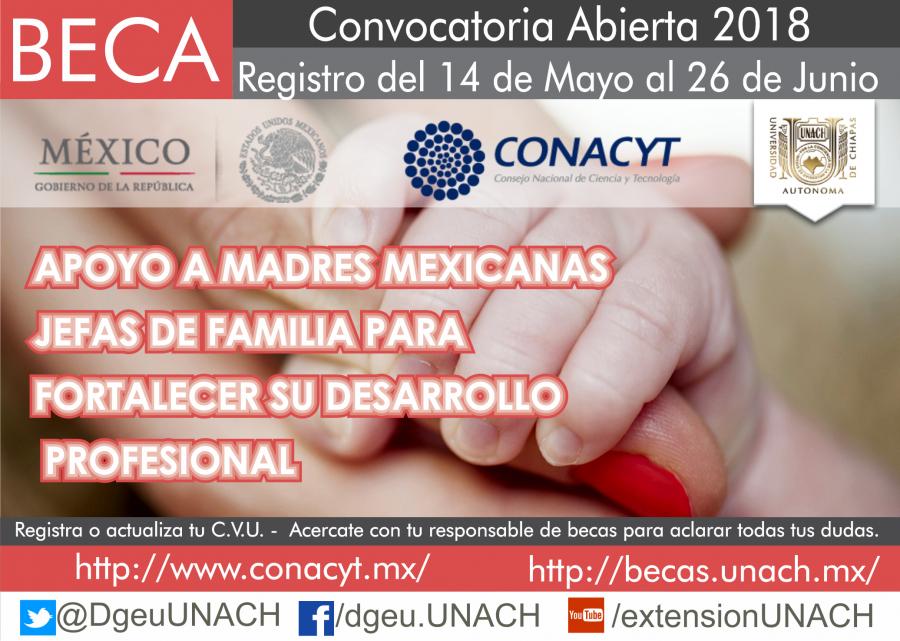 Becas-Apoyo a Madres Mexicanas Jefas de Familia