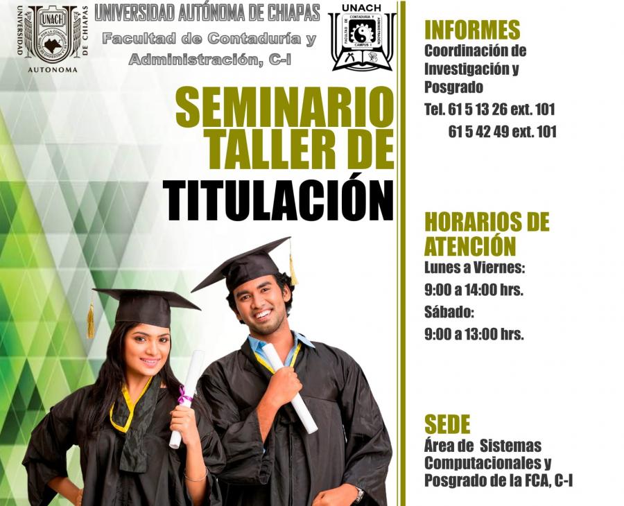 Seminario Taller de Titulación