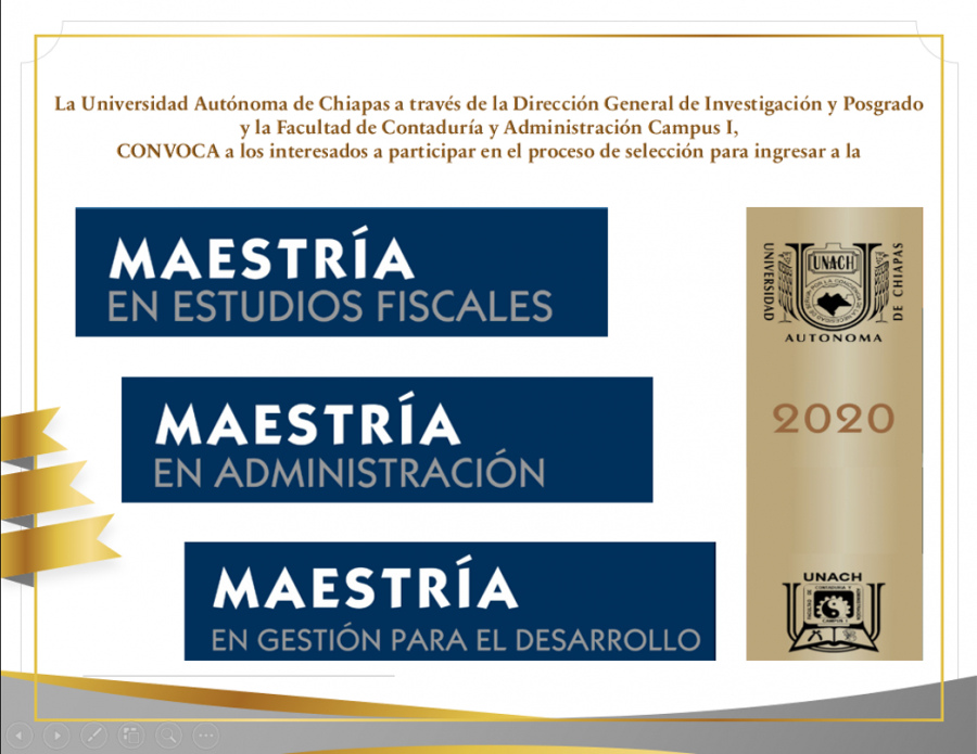 Convocatoria- Maestría 2020