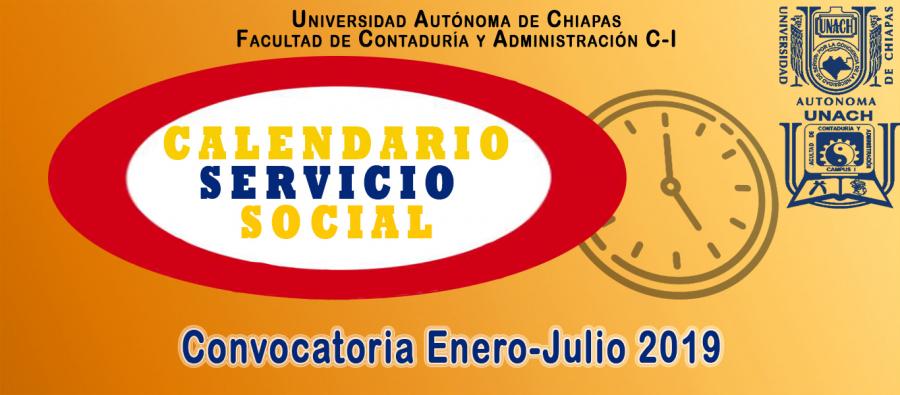 Convocatoria Servicio Social 2018